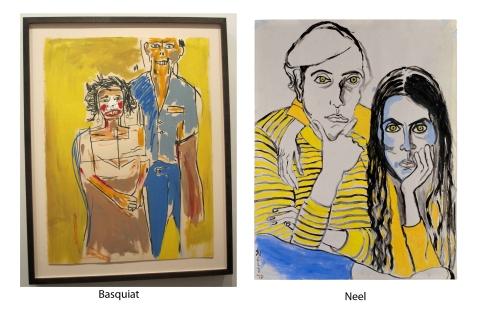 basquiat and neel