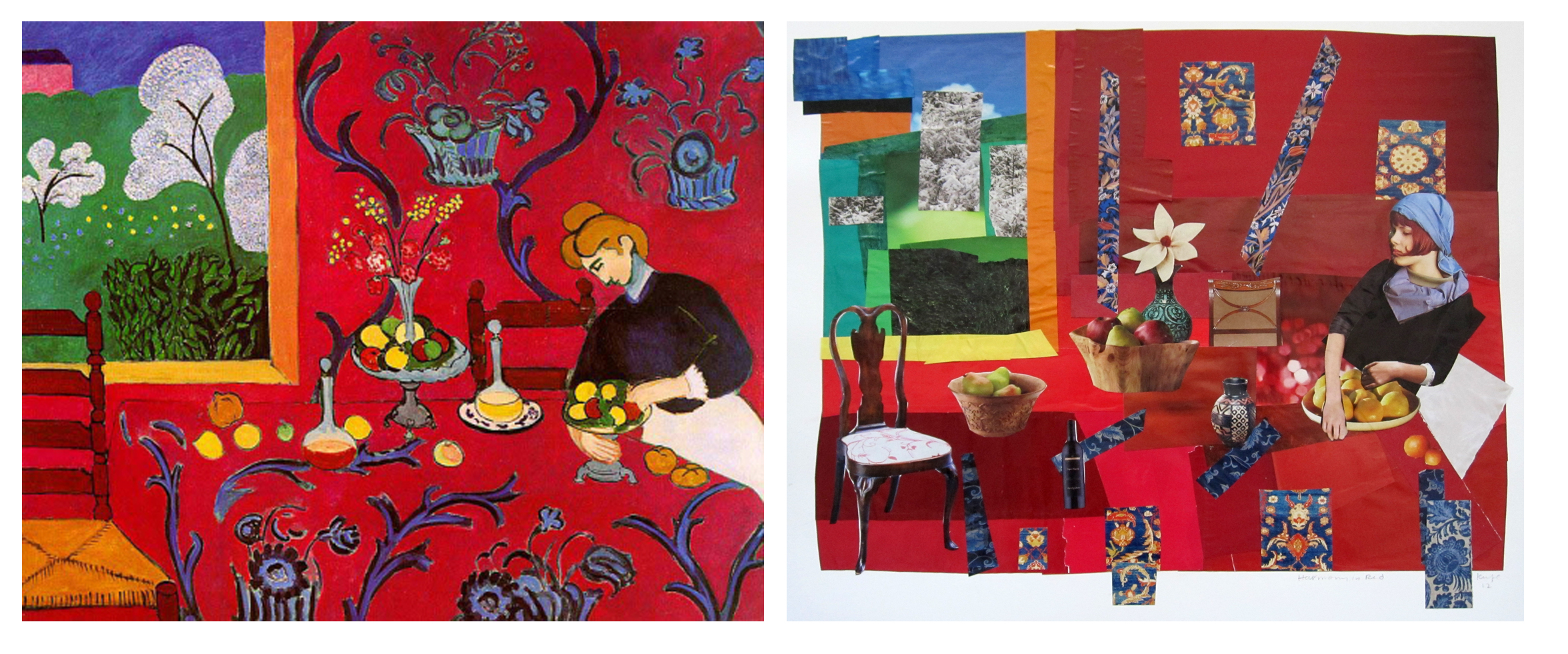 harmony in red henri matisse Online gallery and exhibitions, modernism, matisse, my studio the dessert: a harmony in red 1908 oil on canvas, 180x220cm the hermitage.
