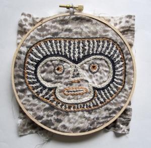 baboon mask s