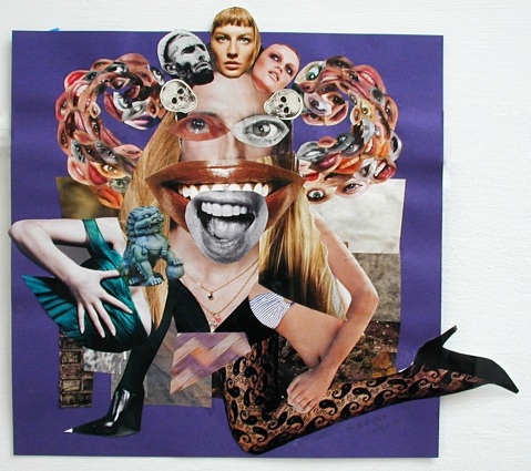 medusa collage