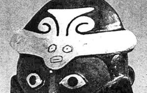 nazca sun bird headdress s