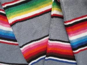 serape stripe scarf