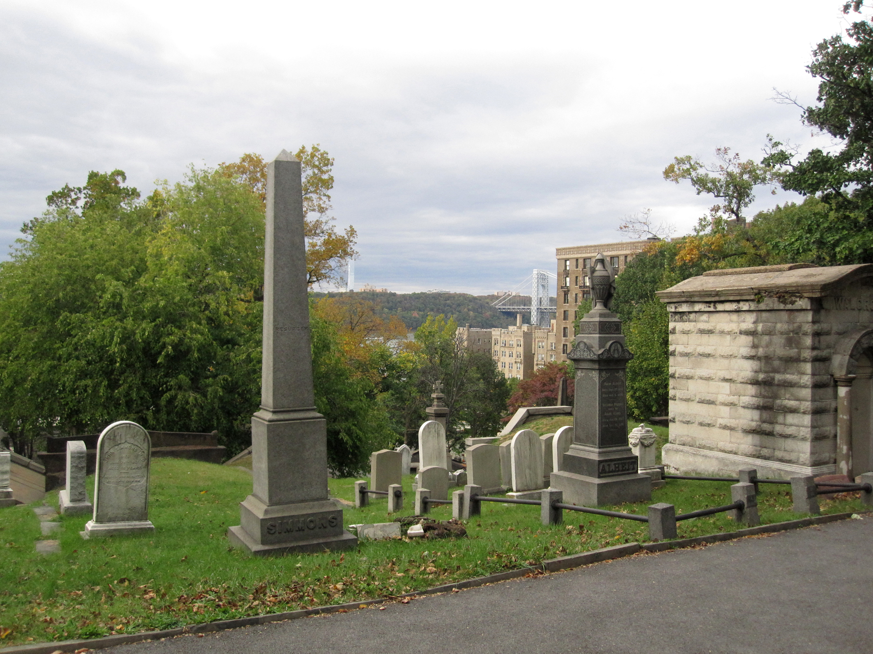 Halloween countdown trinity cemetery method two madness for 572 washington terrace audubon nj