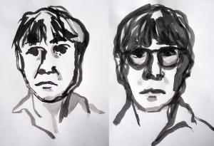 ink self portraits 2
