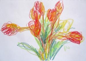 craypas tulips 2s