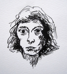 joan mitchell pen ink s