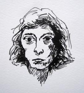 joan mitchell pen ink s
