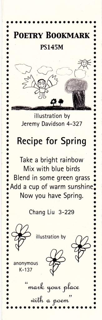 recipe for spring