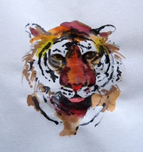 rice paper tiger head s