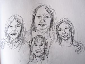 lisha drawing 2s