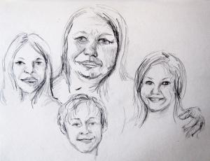 lisha drawing 4s