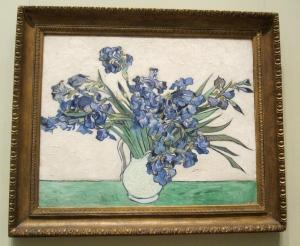 van gogh irises s