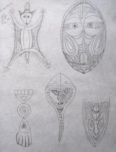 museum masks 1s