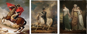 Jacques Louis David, James Ward, George Dawes