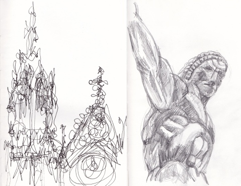 cathedral sketches comp