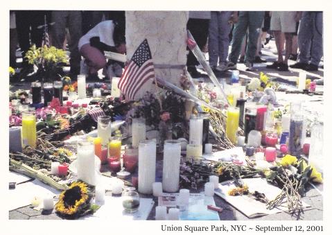 9-11 postcard s