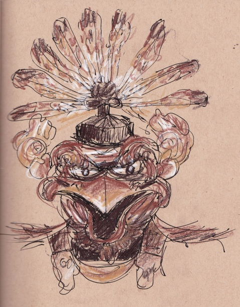 tengu samurai mask s