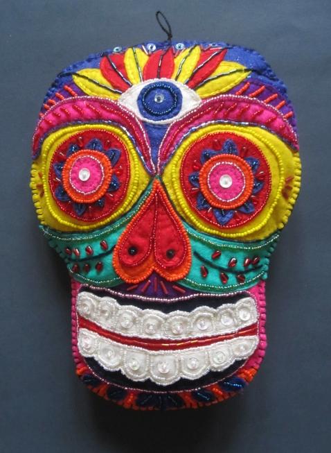 bright beaded skull s
