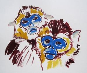 snub nosed monkey s