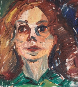 70s self portrait oil s