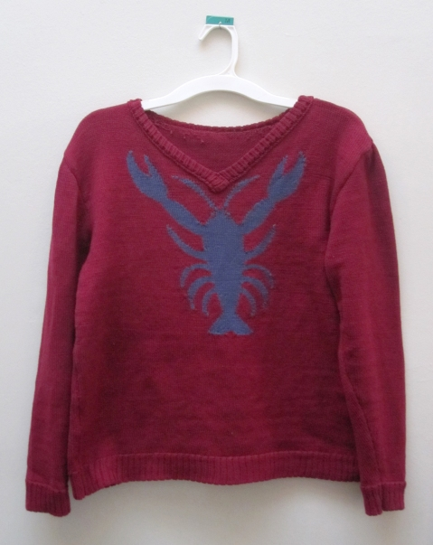 lobster sweater s