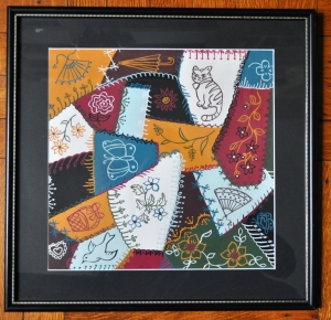 crazy quilt painting s