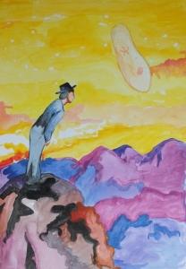 paramecium painting