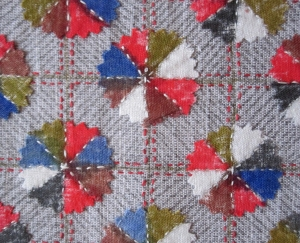 plate quilt close up s