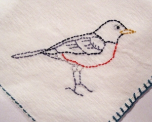 stitched robin bs