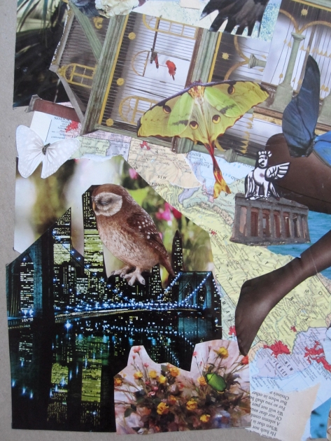 unfolding collage close up 1s