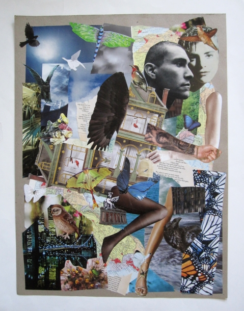 unfolding collage s