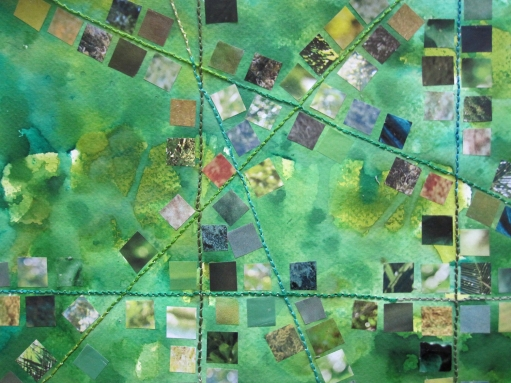 masses of green close up s