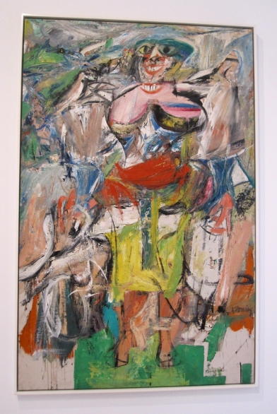de kooning  woman and bicycle s