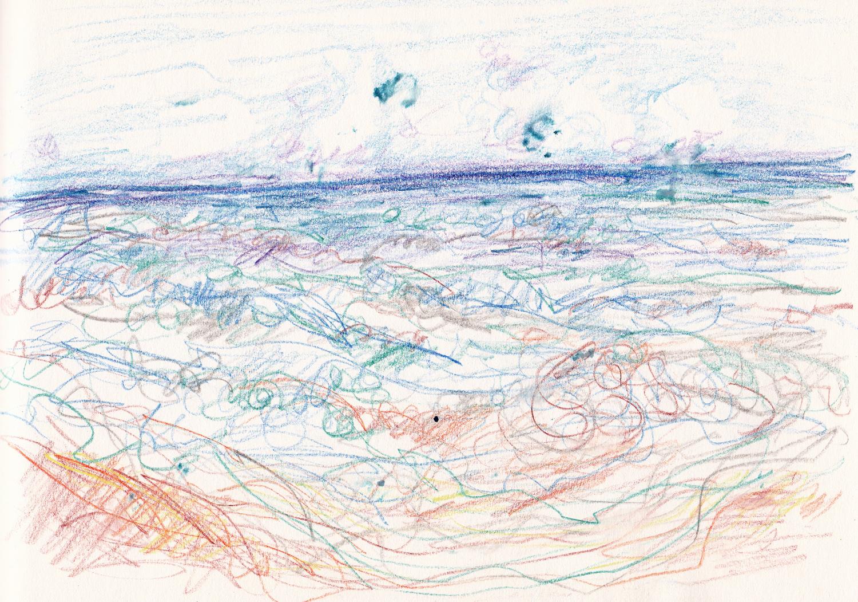 waves pencil 2s