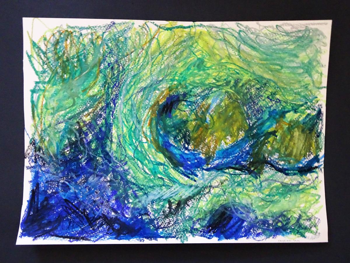 caspian sea from space s