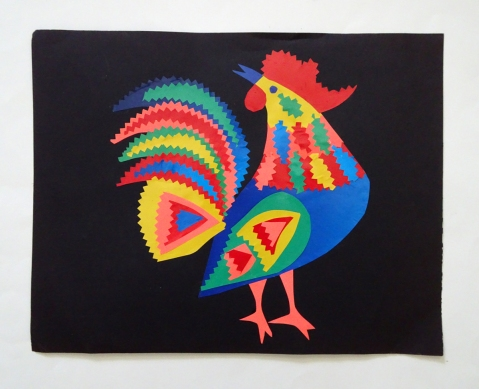 folkloric rooster s