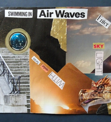 swimming in air waves s