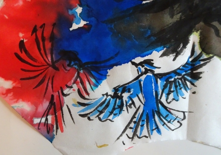 cardinal blue jay s